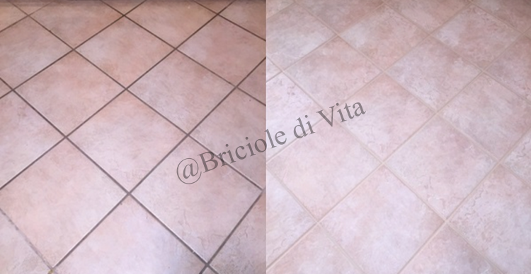 Ecco come pulire le fughe di piastrelle e pavimenti in - Pulire fughe piastrelle aceto ...